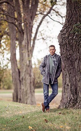 Herbstfoto im Park